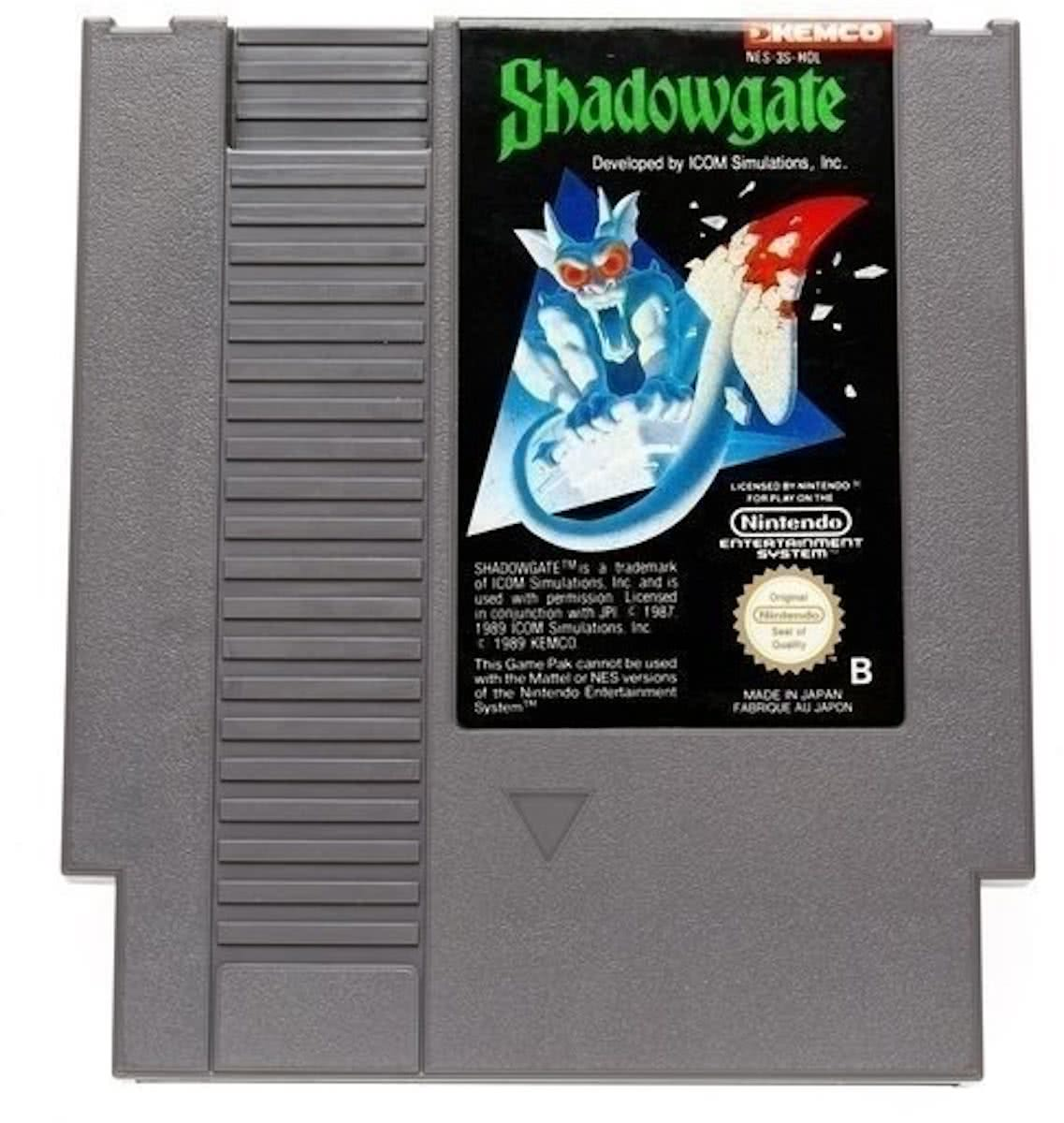 Shadowgate -   [NES] Game [PAL]